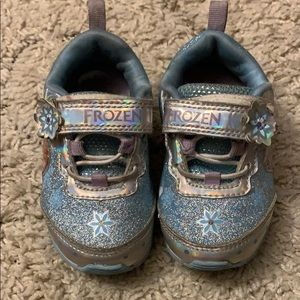 Frozen sneakers toddler size 6